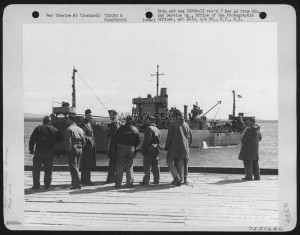 Air Corps Troops Arrive At Keflavik, Iceland. 2Nd Service Group, 20 June 1943.
