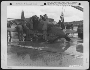 Curtiss P-42 A C 41-13445 Which Crashed At An Airfield In Iceland. 2Nd Air Base Group, 15 April 1942