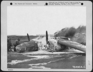 Douglas A-20 (Ac #43-21744), 2Nd Service Group, Somewhere In Iceland. 16 May 1944